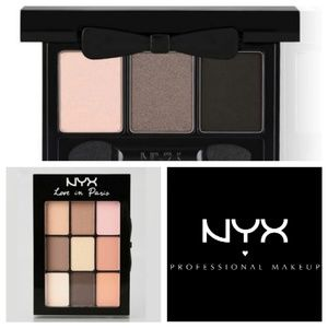 New NYX ✦ Love in Paris Love in Rio Eyeshadow Set